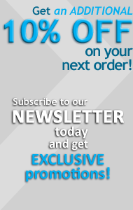 Subscribe to our newsletter and get EXCLUSIVE promotions!